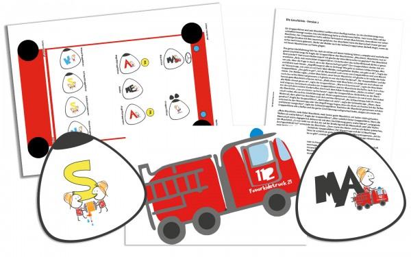 Feuerkids® Ausbilderhilfe Sitzordnung - Kutscher Spiel