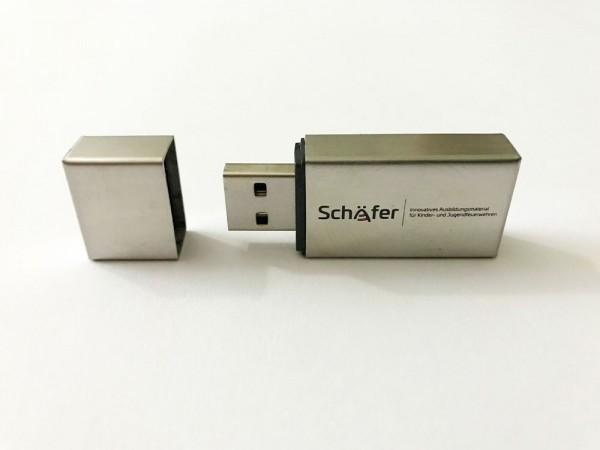 Arbeitsblattsammlung Jugendfeuerwehr (USB Stick)